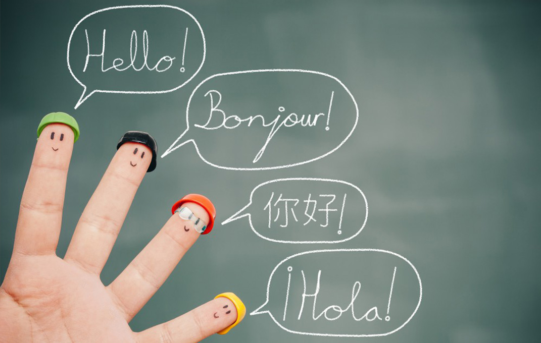 Marketing for multilingual